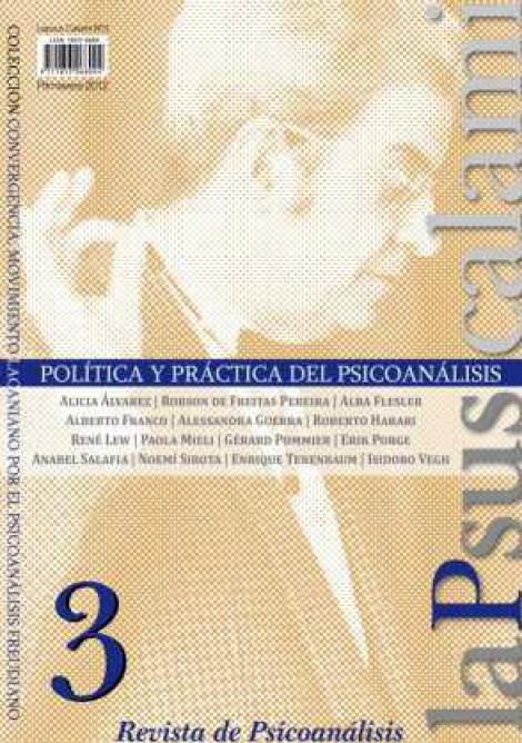 3. Política y Práctica del psicoanálisis
