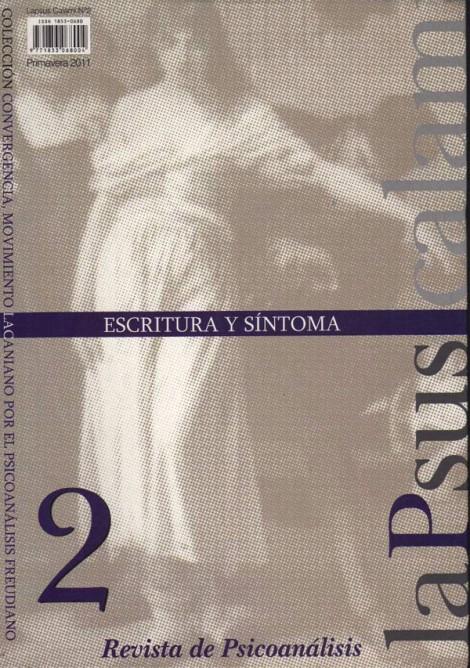 2. Escritura y Síntoma